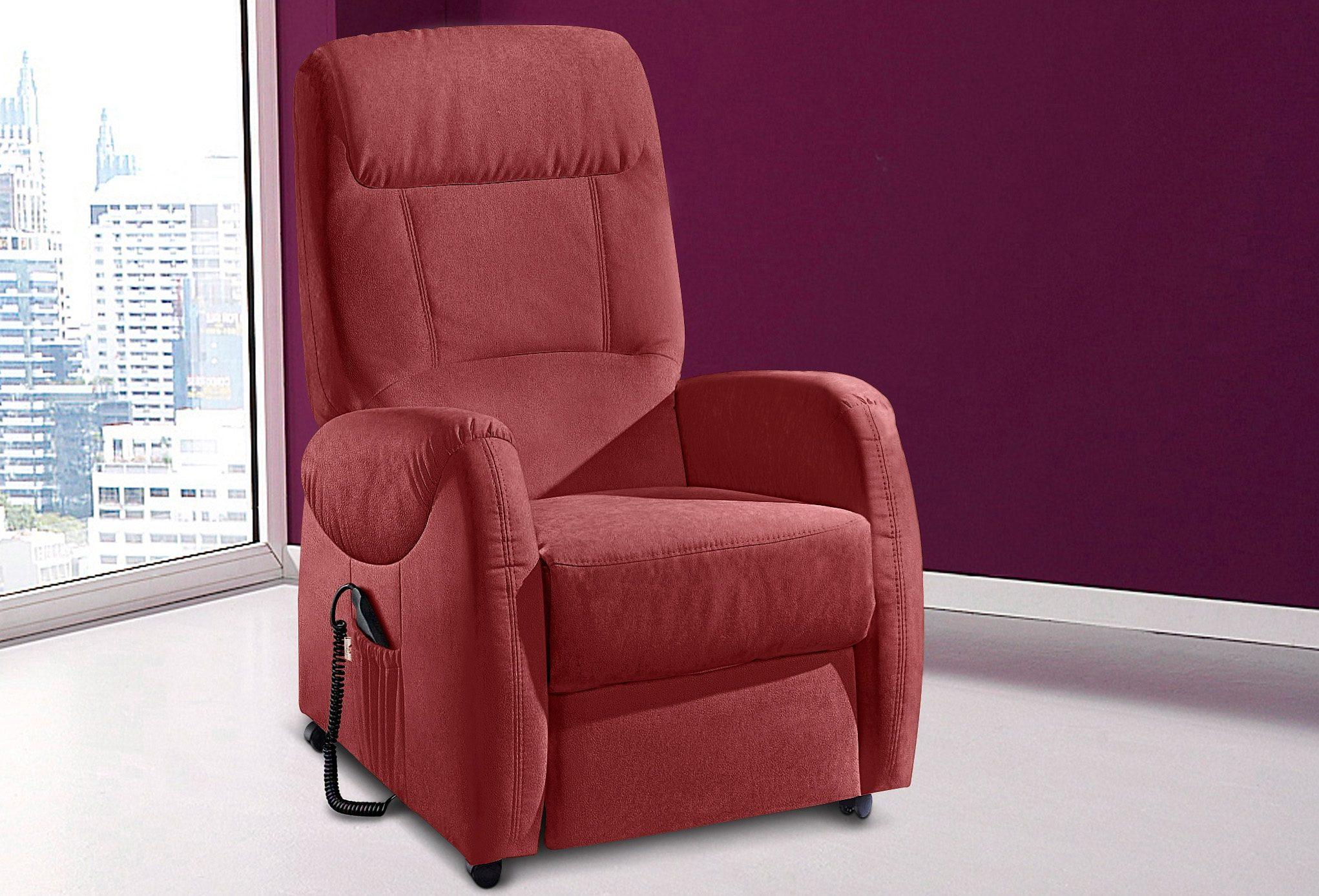 sit&more TV-Sessel, wahlweise mit Motor und Aufstehhilfe,
