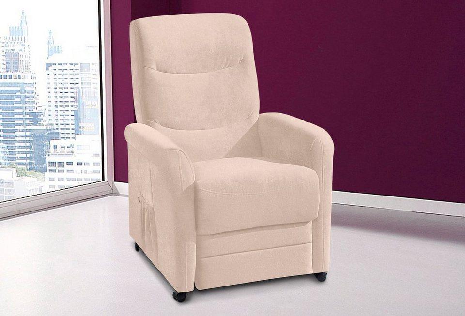 Novasit TV-Sessel, wahlweise mit Motor und Aufstehhilfe in creme