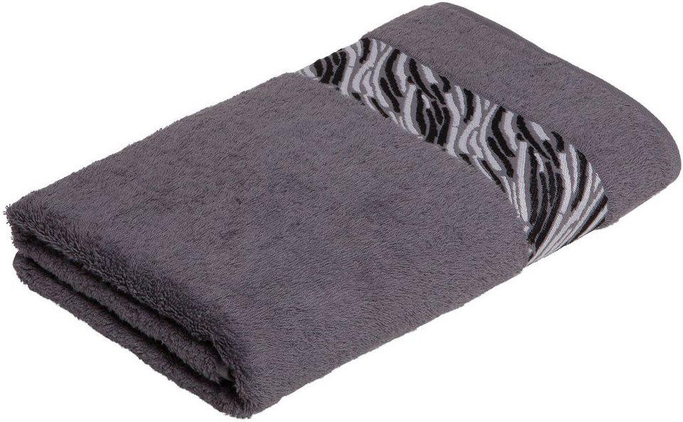 badetuch shadow m ve for frottana mit borkenbord re online kaufen otto. Black Bedroom Furniture Sets. Home Design Ideas