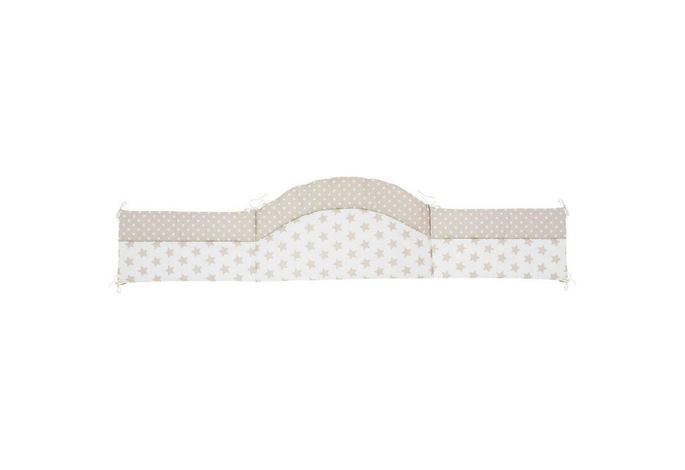 Babymatratzen - Alvi® Nestchen Stars, beige, 180 cm  - Onlineshop OTTO
