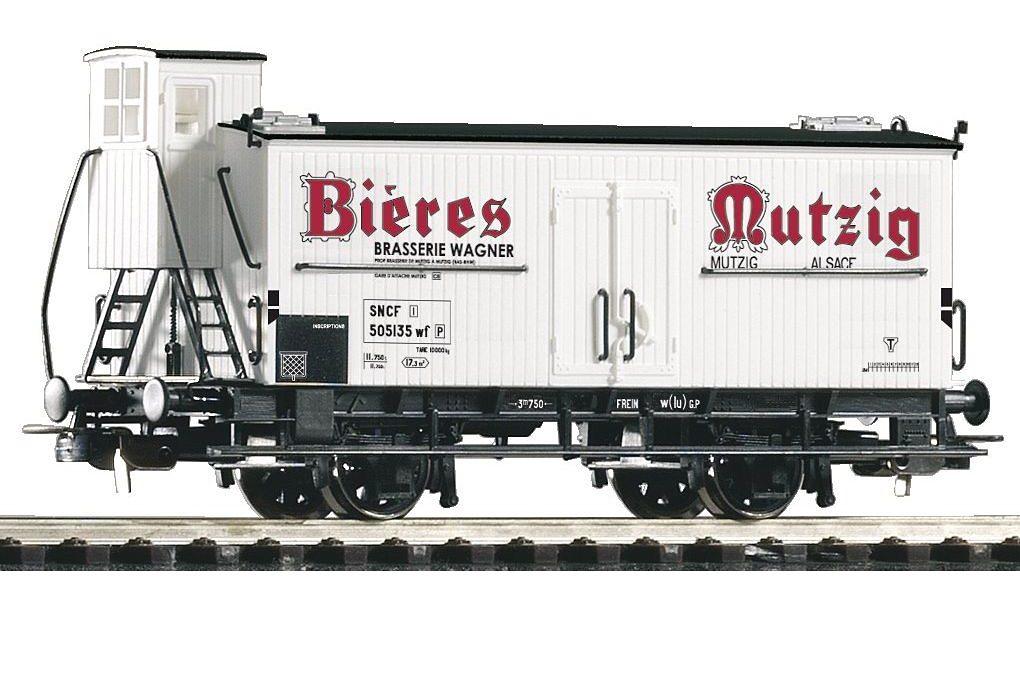 PIKO Güterwagen, »Bierwagen Mutzig, SNCF - Gleichstrom« Spur H0