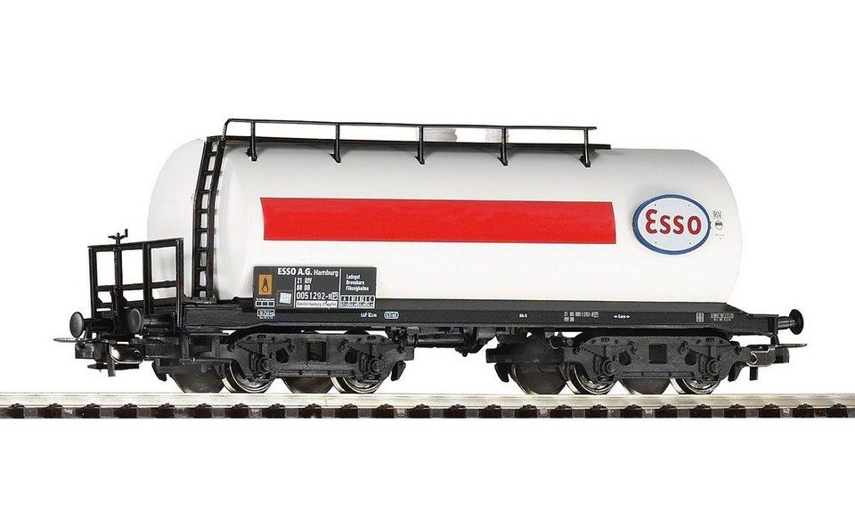 PIKO Güterwagen, »Kesselwagen Esso, DB - Gleichstrom« Spur H0 in weiß