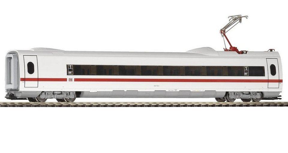 PIKO Personenwagen, »ICE 3 Personenwaggon mit Stromabnehmer, DB AG - Gleichstrom« Spur H0 in weiß