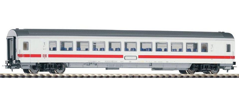 PIKO Personenwagen, »IC Großraumwagen 1. Klasse, DB AG - Gleichstrom« Spur H0 in weiß