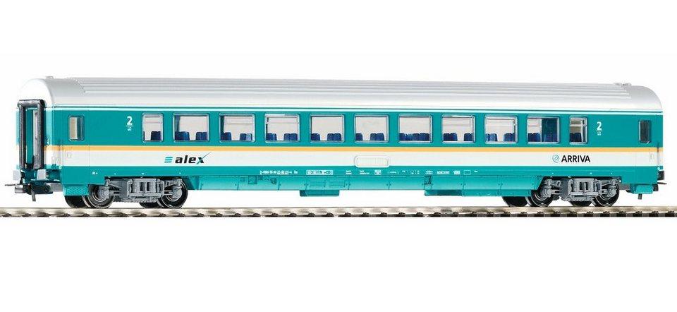 PIKO Personenwagen, »Waggon Arriva 2. Klasse - Gleichstrom« Spur H0 in türkis