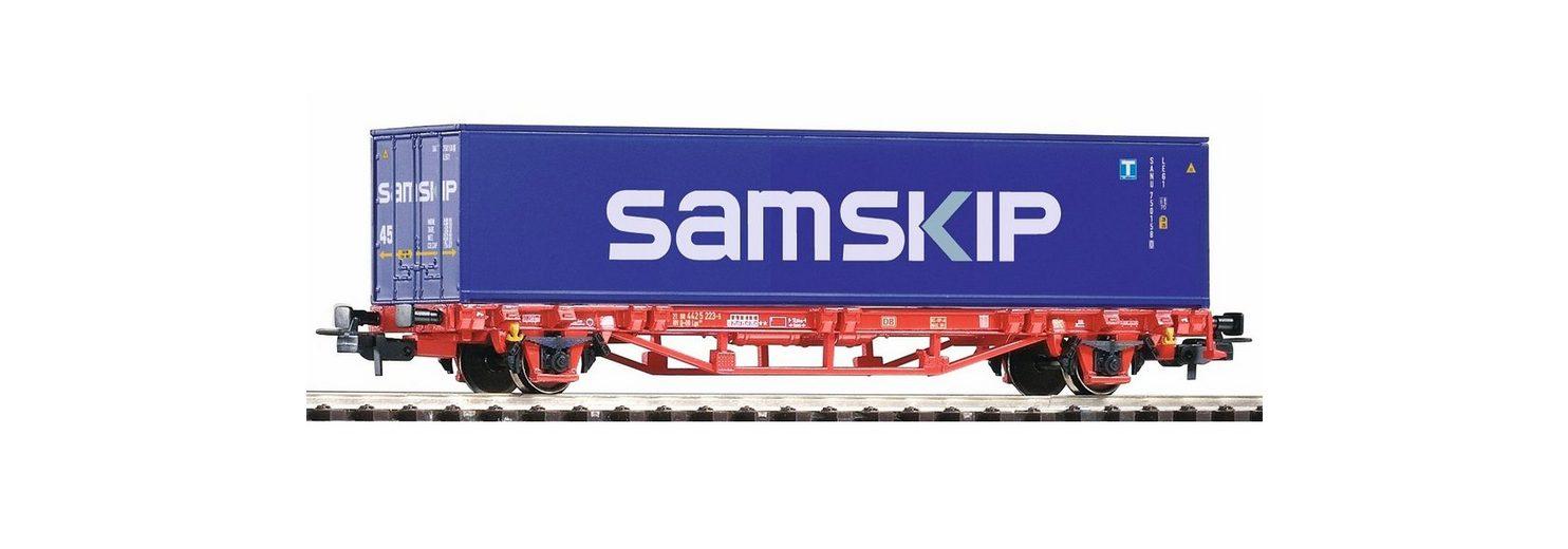 PIKO Güterwagen, »Containerwagen Lgs579 Container Samskip, DB AG - Gleichstrom« Spur H0