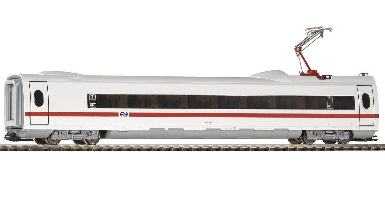 PIKO Personenwagen, »ICE 3 Personenwaggon 2. Kl. mit Stromabnehmer, NS - Gleichstrom« Spur H0