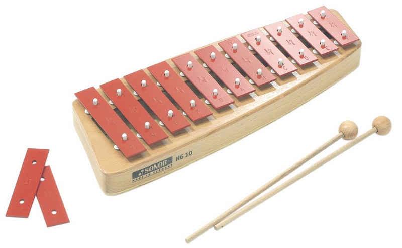 Xylophon »Glockenspiel NG 10, Sopran«, Made in Germany