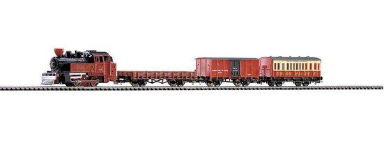 PIKO Modelleisenbahn-Set »Start-Set Western Zug - Gleichstrom«, Spur H0