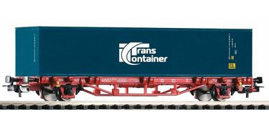PIKO Güterwagen »Containerwagen Lgs579 2 Container Transcontainer, DB AG«, Spur H0