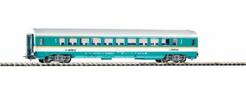 PIKO Personenwagen, »Waggon Arriva 1./2. Klasse - Gleichstrom« Spur H0 in türkis