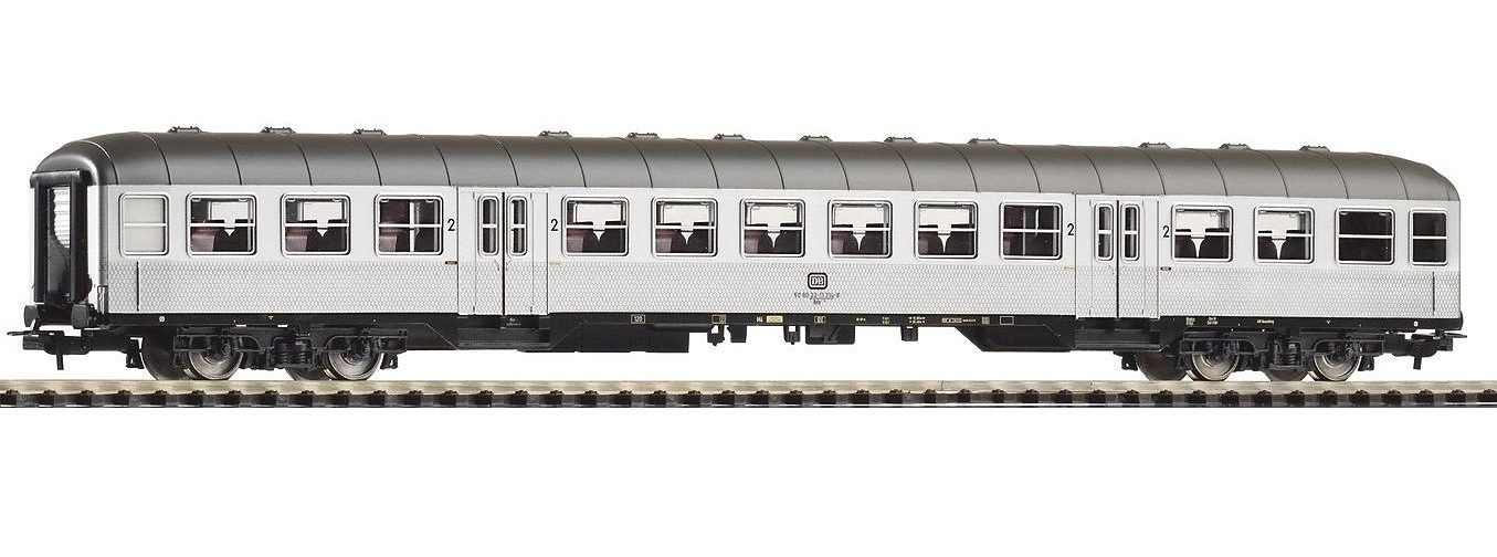 PIKO Personenwagen, »Nahverkehrswagen 2. Klasse Bnb719, Silberling, DB - Gleichstrom« Spur H0 - broschei