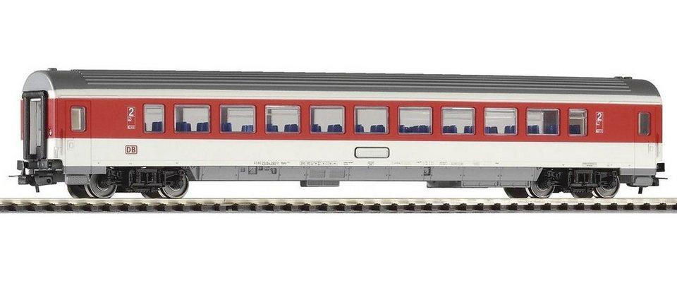 PIKO Personenwagen, »IC Personenwagen 2. Klasse, rotes Fensterband, DB AG - Gleichstrom« Spur H0 in rot