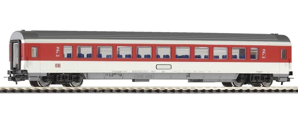 PIKO Personenwagen, »IC Personenwagen 2. Klasse, rotes Fensterband, DB AG - Gleichstrom« Spur H0