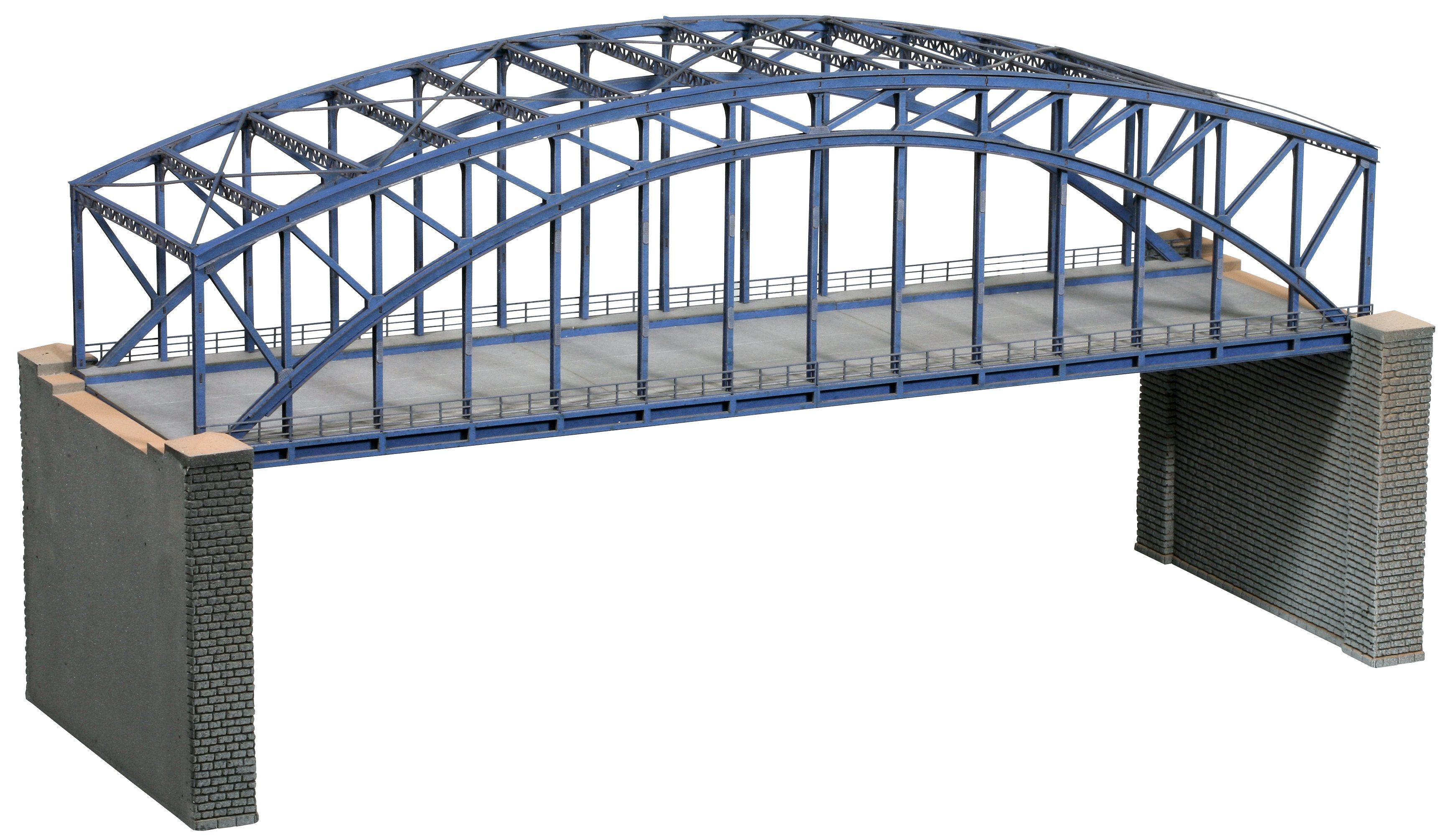 NOCH Modelleisenbahn Zubehör, »Bogenbrücke, 2-gleisig« Spur H0