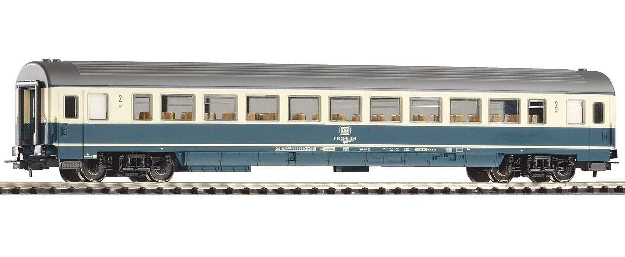 PIKO Personenwagen, »IC Großraumwagen 2. Klasse Bpmz291.2, DG - Gleichstrom« Spur H0 - broschei