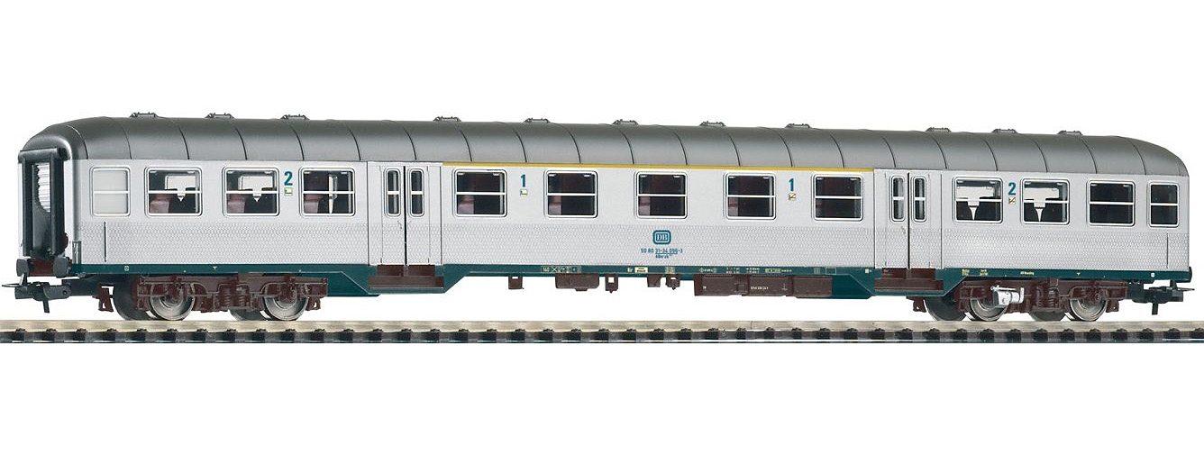PIKO Personenwagen, »Nahverkehrswagen 1./2. Klasse ABnrzb704, DB - Gleichstrom« Spur H0 - broschei