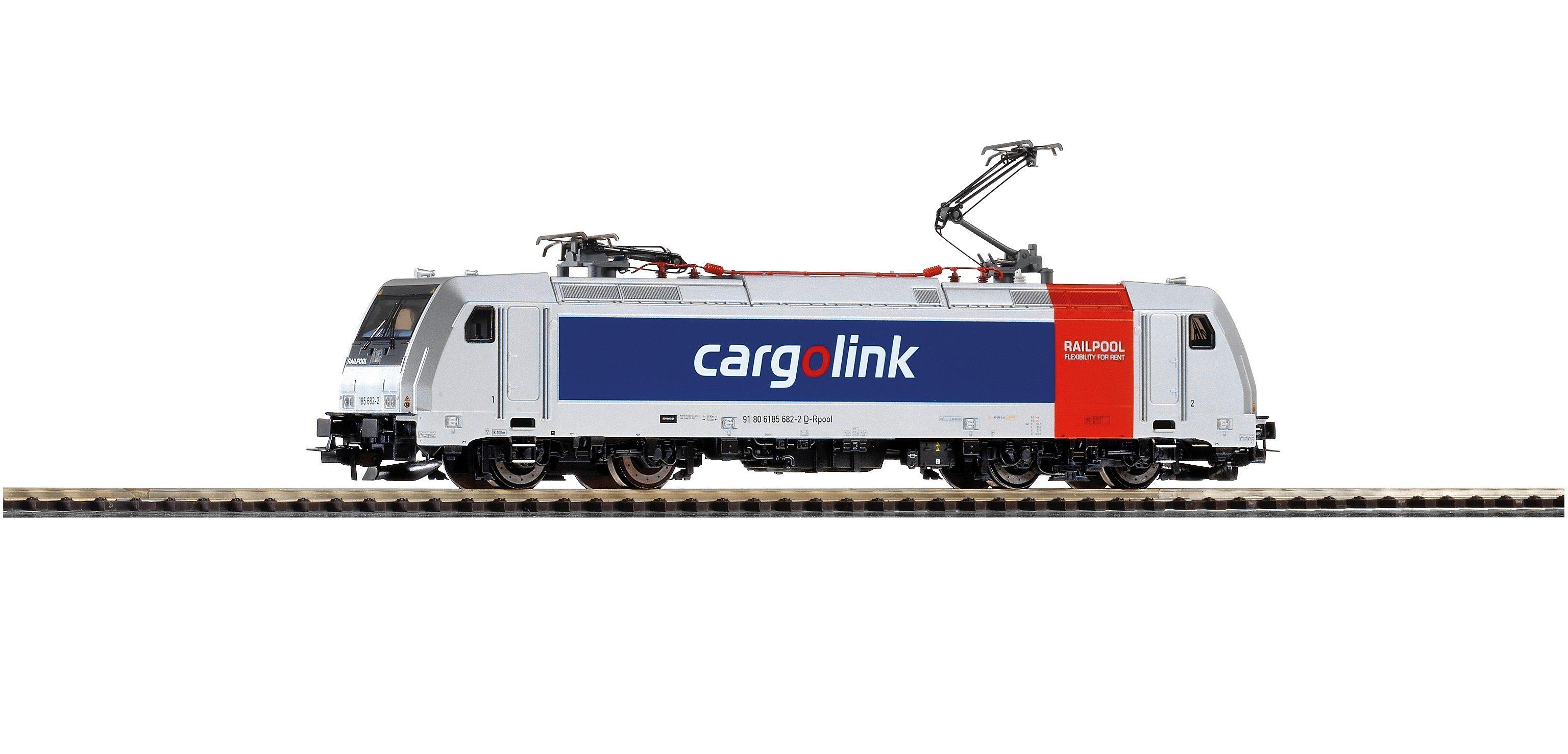 PIKO E-Lok, »Elektrolok 185.2 Cargolink - Wechselstrom« Spur H0