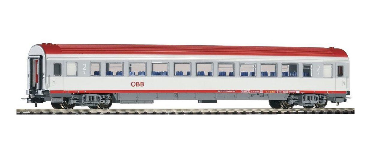 PIKO Personenwagen, »IC Großraumwagen 2. Klasse Bmz, ÖBB - Gleichstrom« Spur H0