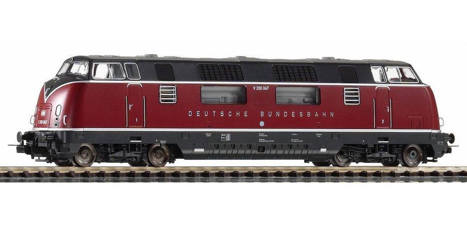 PIKO Diesellok, »Diesellokomotive V 200.0 DB - Wechselstrom« Spur H0 in rot