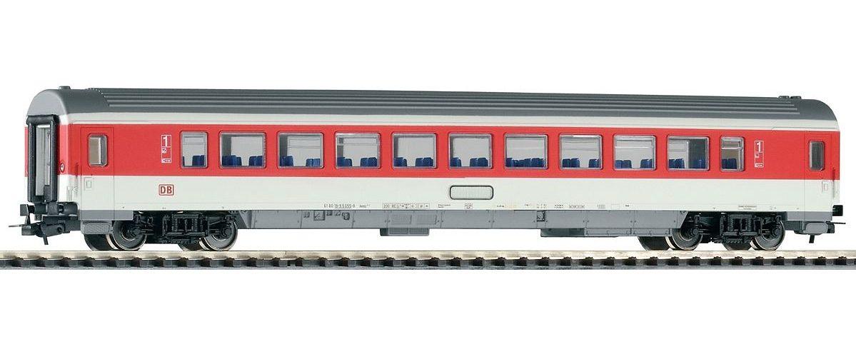 PIKO Personenwagen, »IC Personenwagen 1. Klasse, rotes Fensterband, DB AG - Gleichstrom« Spur H0 - broschei
