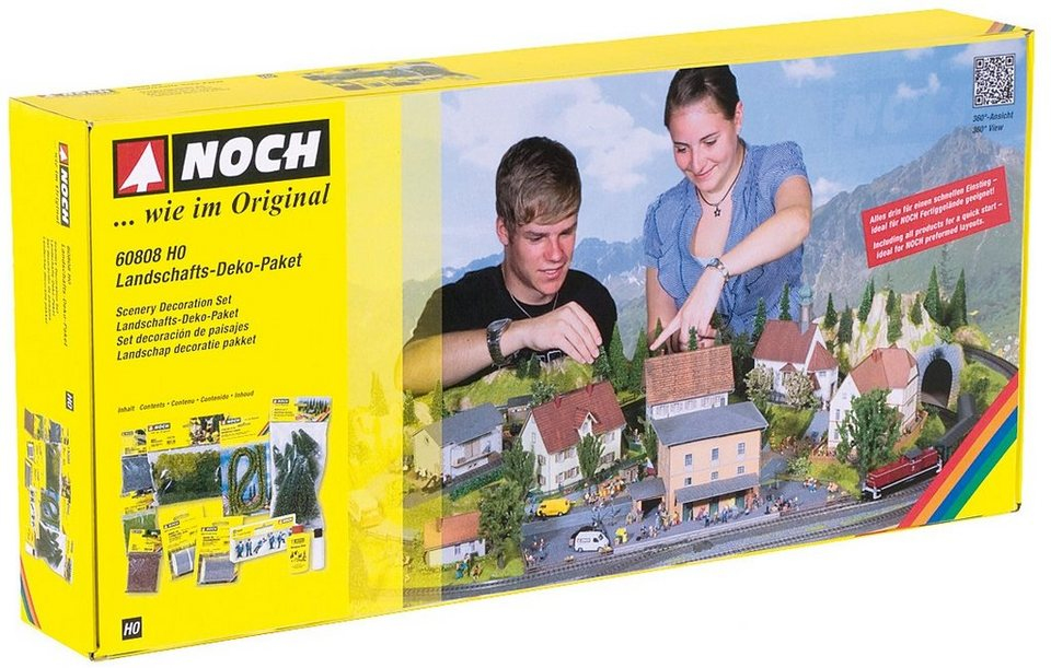 NOCH Modelleisenbahn Zubehör, »Landschafts-Deko-Paket« Spur H0