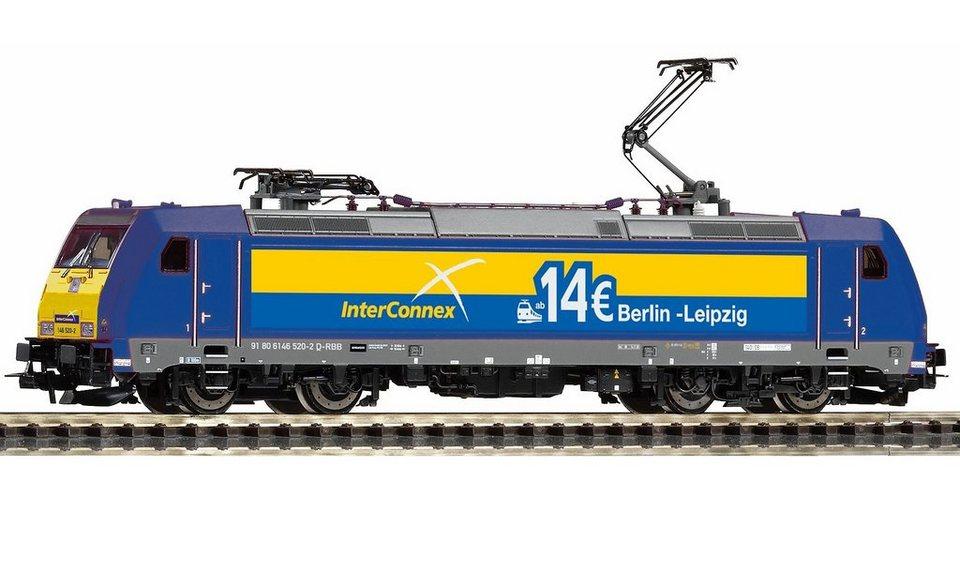 PIKO E-Lok, »Elektrolokomotive 146.2 InterConnex - Gleichstrom« Spur H0 in blau