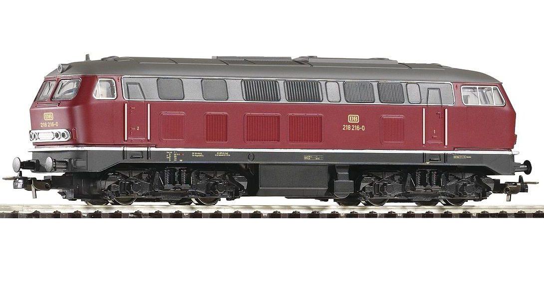 PIKO Diesellokomotive, »Diesellok BR 218, DB - Gleichstrom« Spur H0