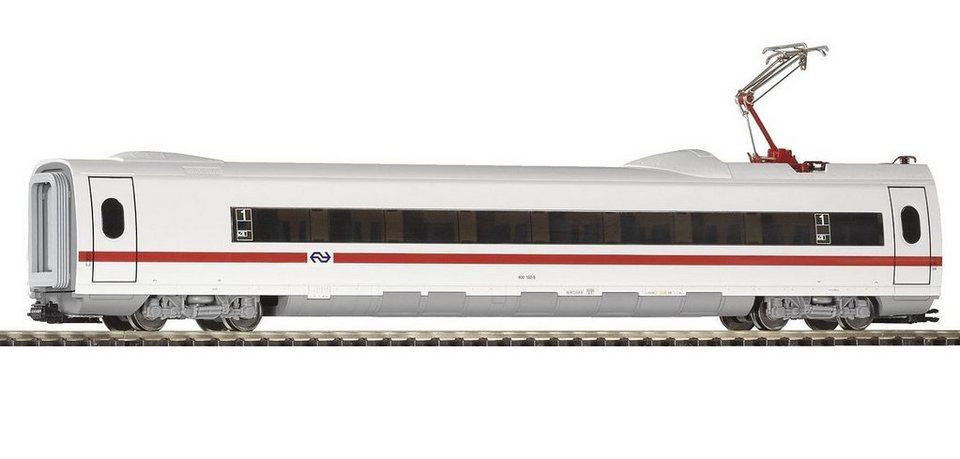 PIKO Personenwagen, »ICE 3 Personenwaggon 1.Kl. mit Stromabnehmer, NS - Gleichstrom« Spur H0 in weiß