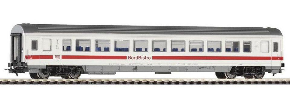 PIKO Personenwagen, »IC Personenwagen Bordbistro, DB AG - Gleichstrom« Spur H0 in weiß
