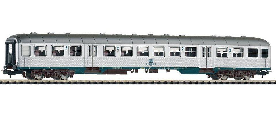 PIKO Personenwagen, »Nahverkehrswagen 2. Klasse Bnb719, DB - Gleichstrom« Spur H0 in silberfarben