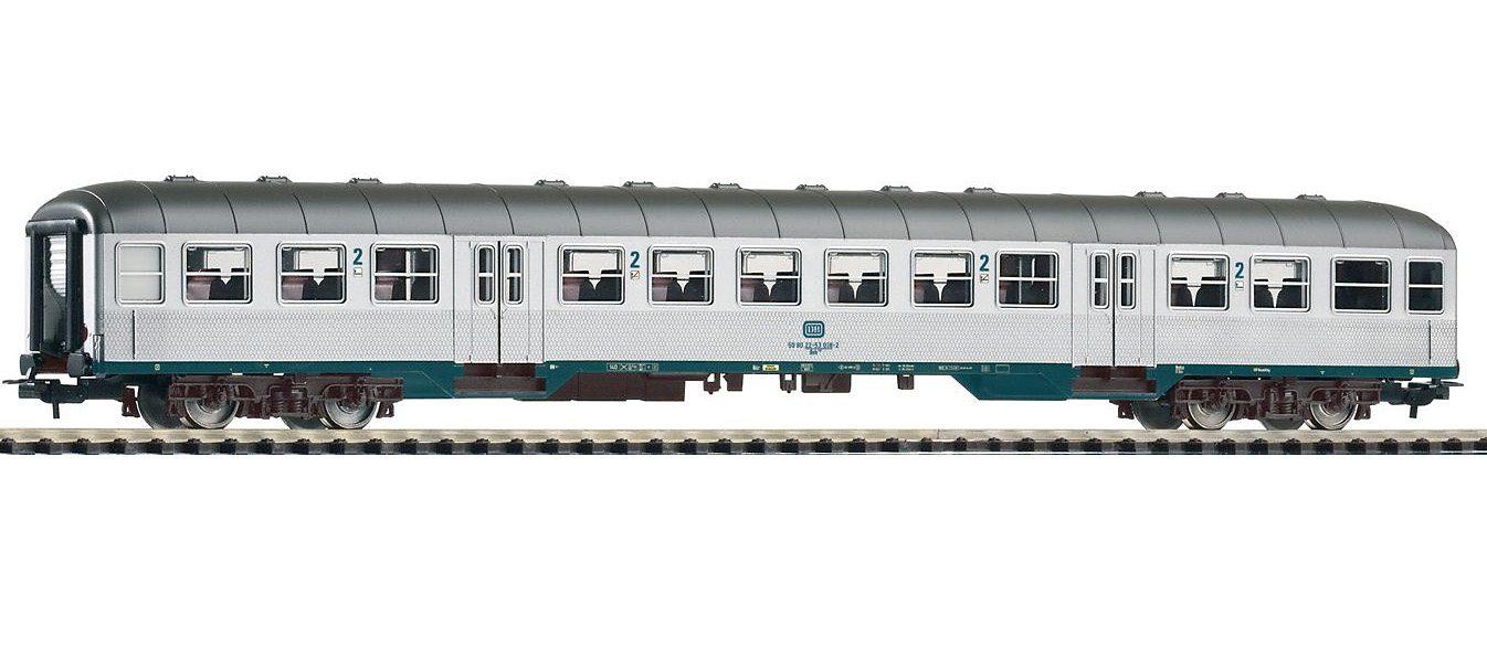 PIKO Personenwagen, »Nahverkehrswagen 2. Klasse Bnb719, DB - Gleichstrom« Spur H0