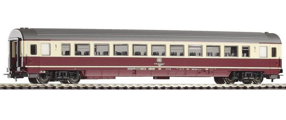 PIKO Personenwagen, »IC Großraumwagen 1. Klasse Avmz207, DB - Gleichstrom« Spur H0 in rot/beige