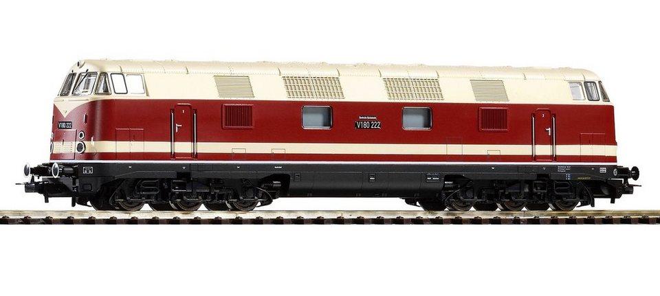 PIKO Diesellok, »Diesellokomotive V 180, 6-achsig, DR - Wechselstrom« Spur H0 in rot/beige