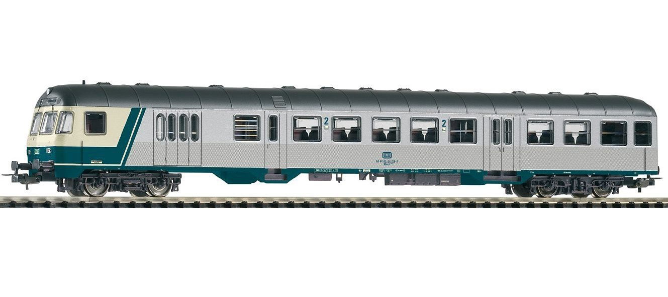 PIKO Personenwagen, »Nahverkehrssteuerwagen 2. Klasse DBnrfz740, DB - Gleichstrom« Spur H0