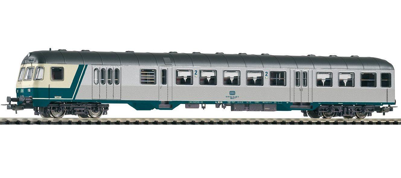 PIKO Personenwagen, »Nahverkehrssteuerwagen 2. Klasse DBnrfz740, DB - Gleichstrom« Spur H0 - broschei