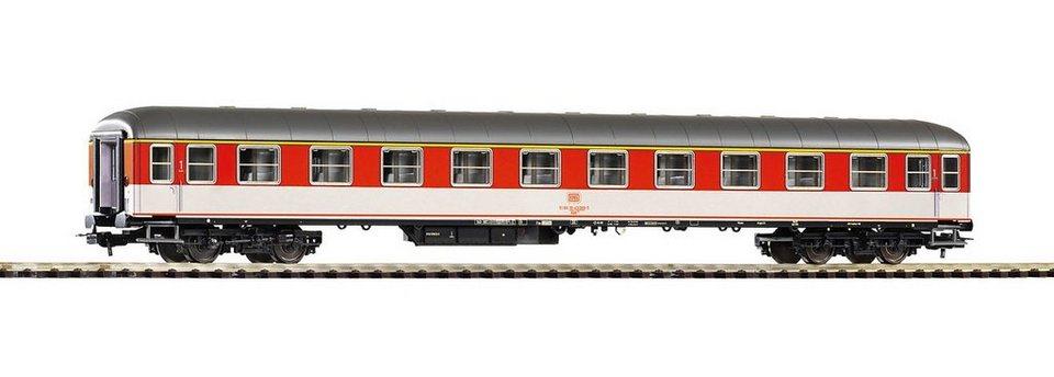 PIKO Personenwagen, »Schnellzugwagen 1. Klasse Aüm202, DB - Gleichstrom« Spur H0 in orange