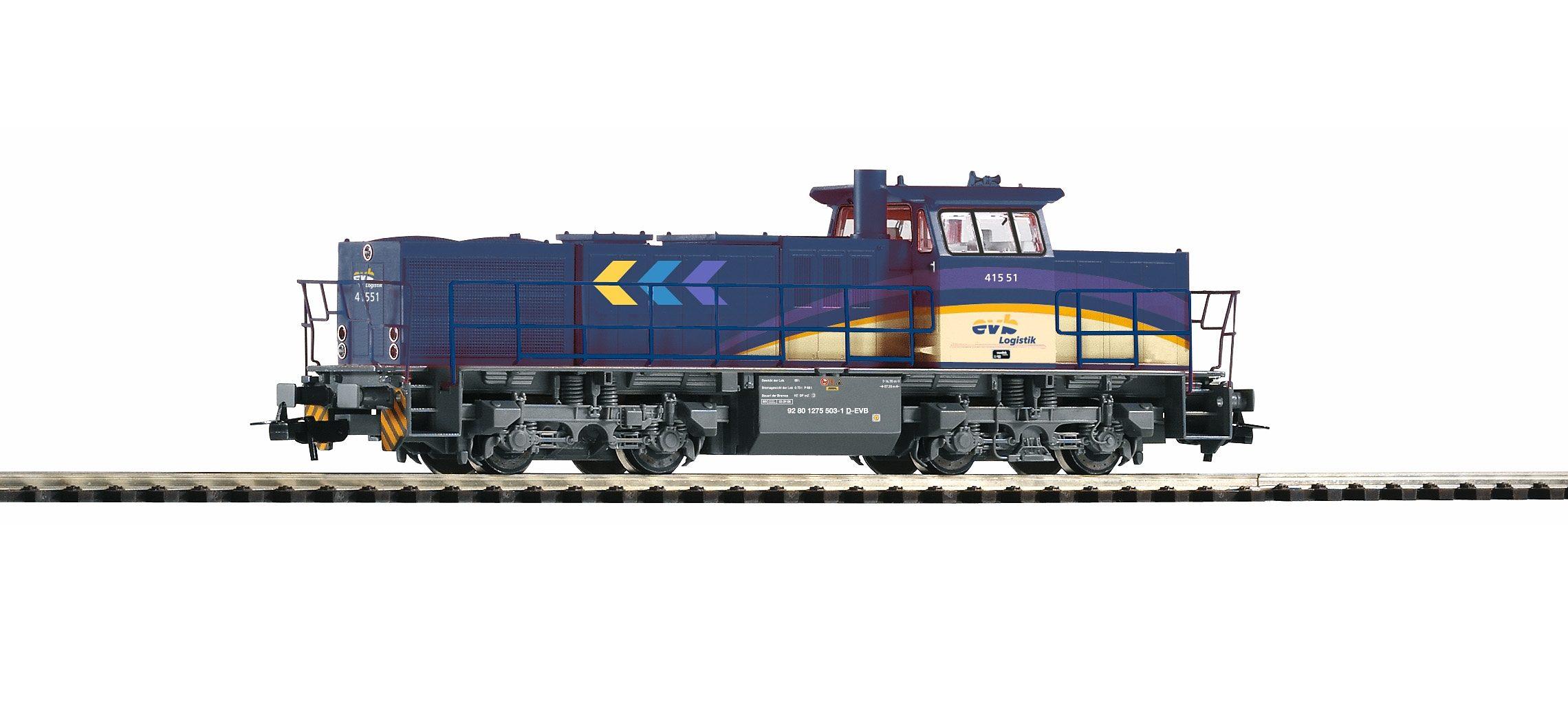 PIKO Diesellok, »Diesellokomotive G 1206, EVB - Gleichstrom« Spur H0
