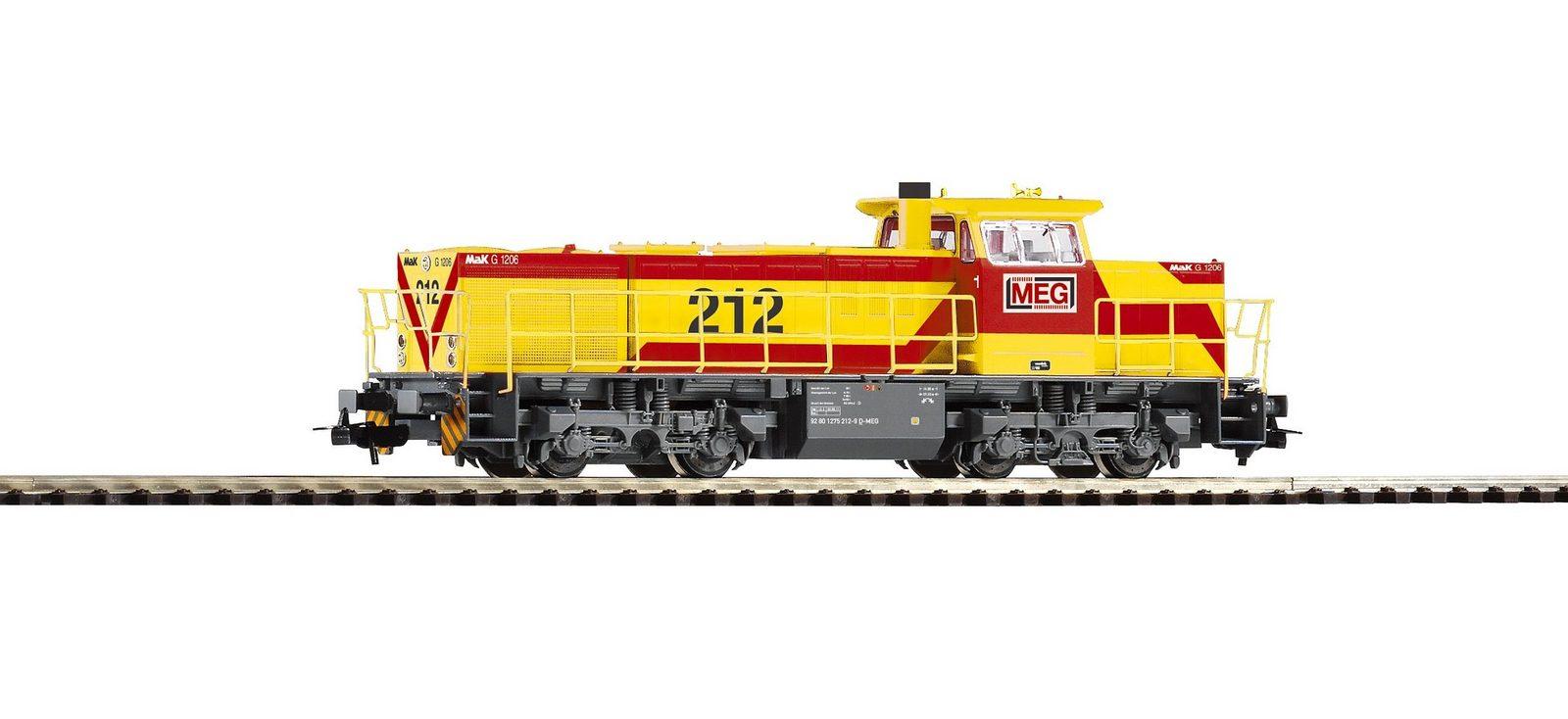 PIKO Diesellok, »Diesellokomotive G 1206 MEG - Wechselstrom« Spur H0 - broschei