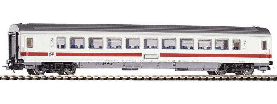 PIKO Personenwagen, »IC Großraumwagen 2. Klasse, DB AG - Gleichstrom« Spur H0 in weiß