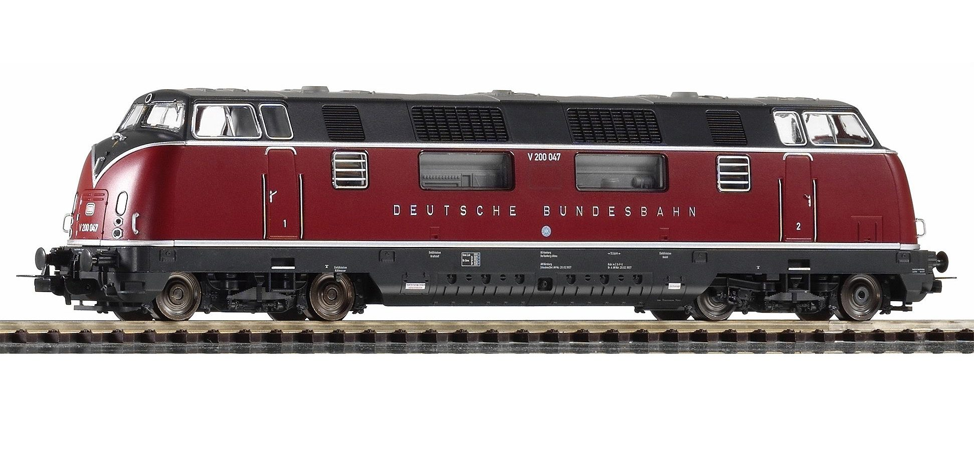 PIKO Diesellok, »Diesellokomotive V 200.0, DB - Gleichstrom« Spur H0