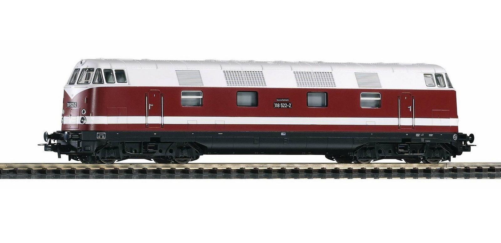 PIKO Diesellok, »Diesellokomotive, BR 118, DR - Wechselstrom« Spur H0 - broschei