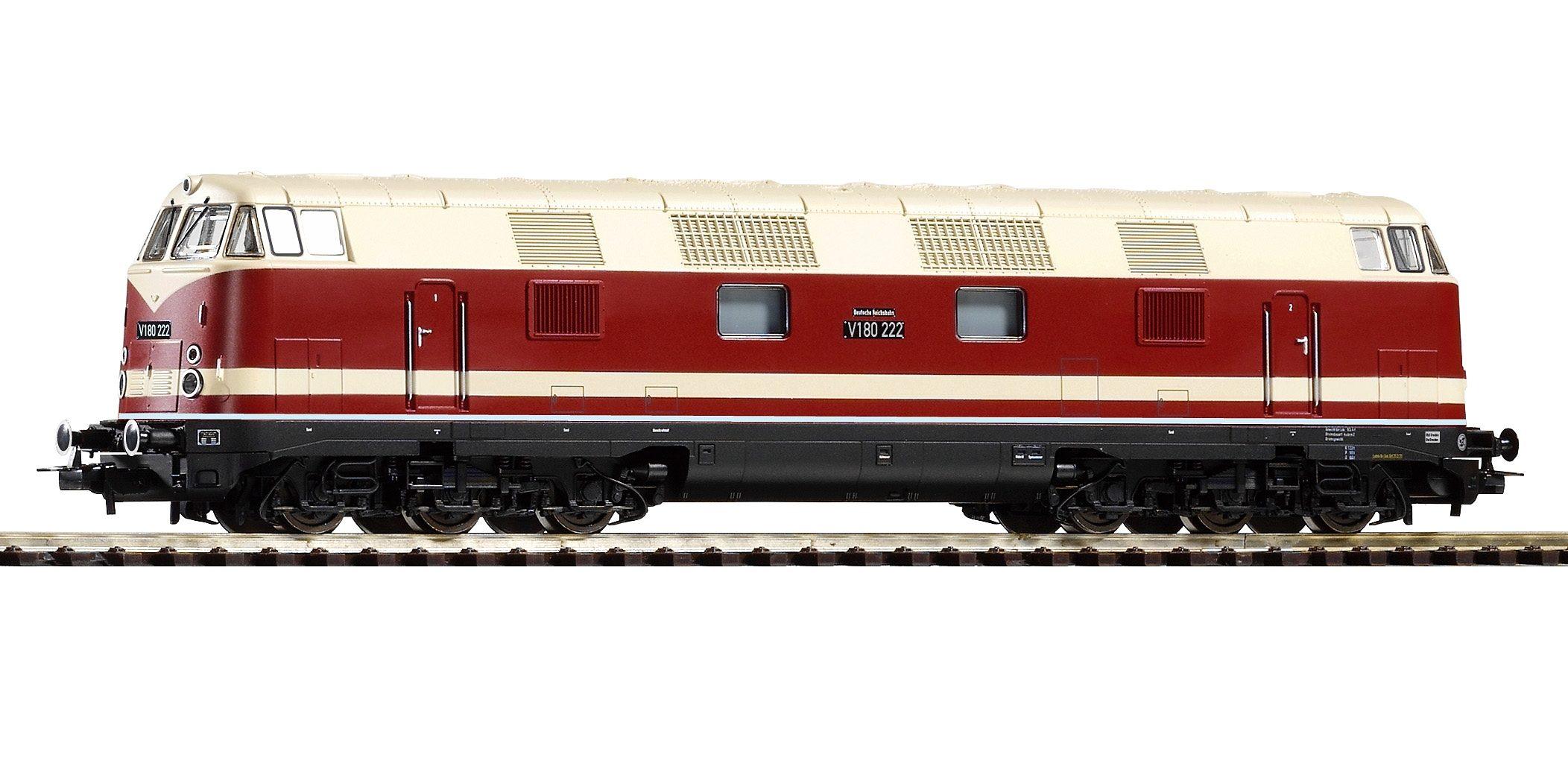 PIKO Diesellok, »Diesellokomotive V 180, 6-achsig, DR - Gleichstrom« Spur H0