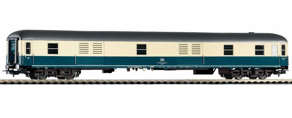 PIKO Personenwagen, »Schnellzugpackwagen Dm 902, DB - Gleichstrom« Spur H0 in blau/beige