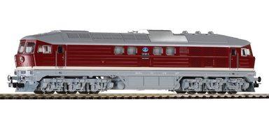 PIKO Diesellok, »Diesellokomotive mit Schneepflug, DR - Wechselstrom« Spur H0