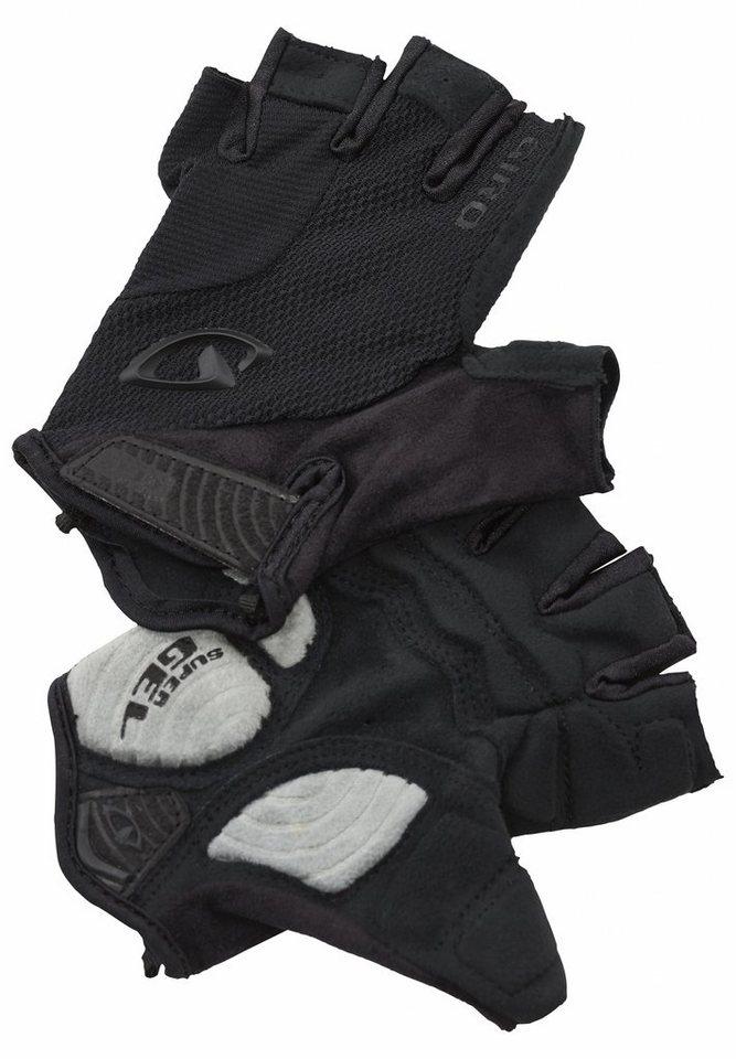 Giro Fahrrad Handschuhe »Strate Dure Supergel Gloves« in schwarz