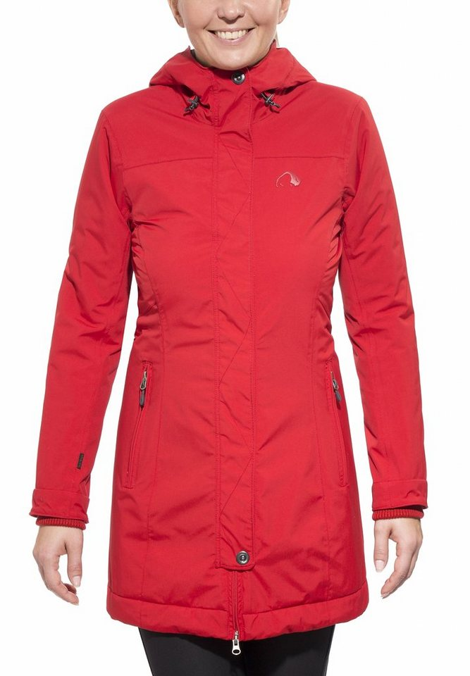 Tatonka Outdoorjacke »Seljo Coat Women« in rot