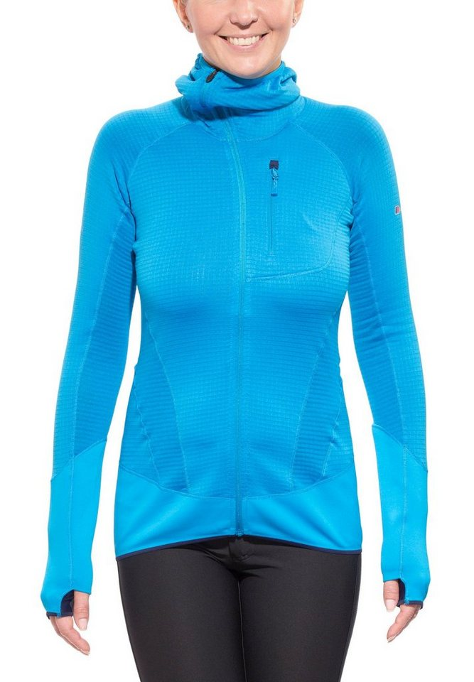 Berghaus Outdoorjacke »Smoulder Hoody Jacket Women« in blau