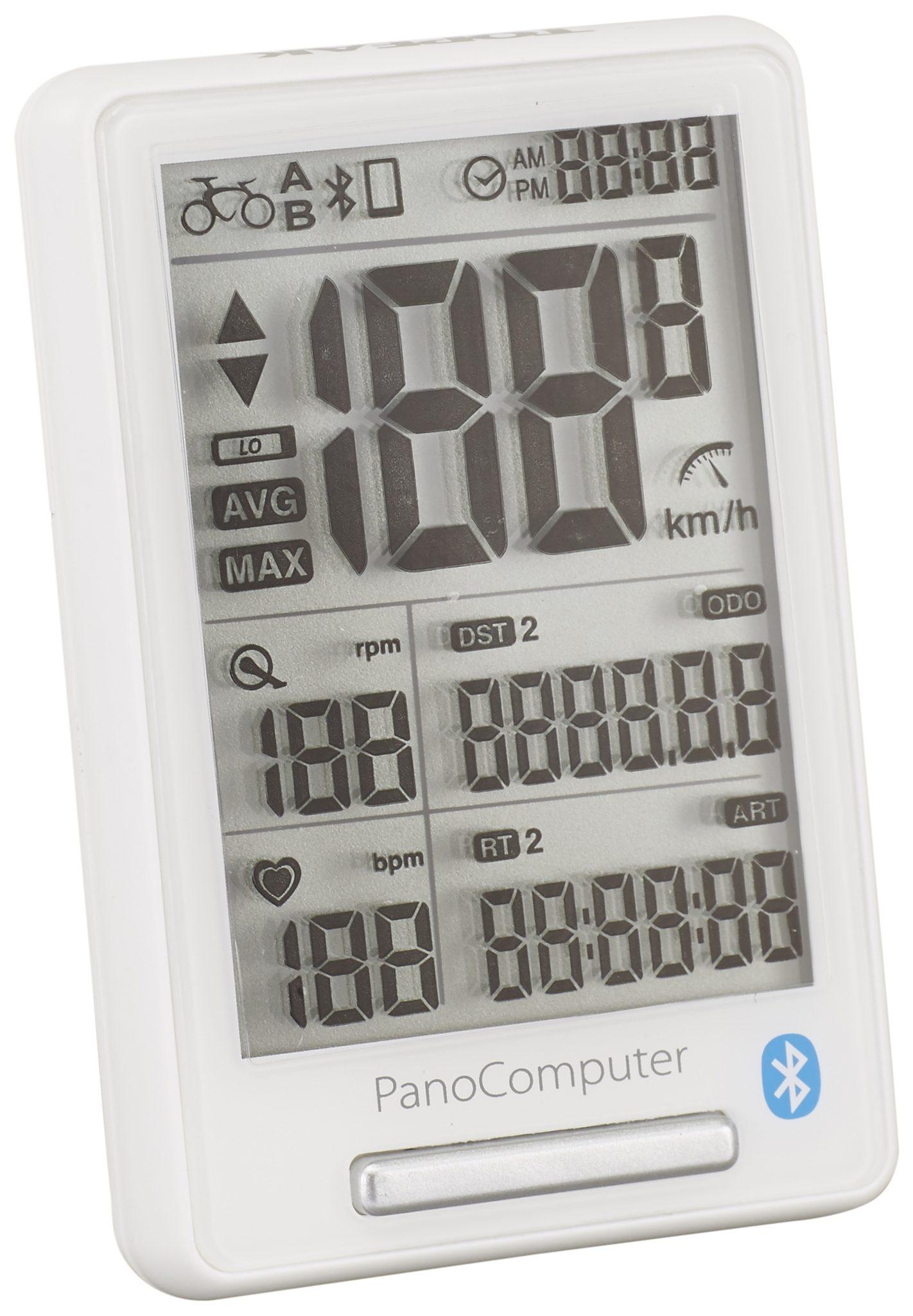 Topeak Fahrradcomputer »PanoComputer white«
