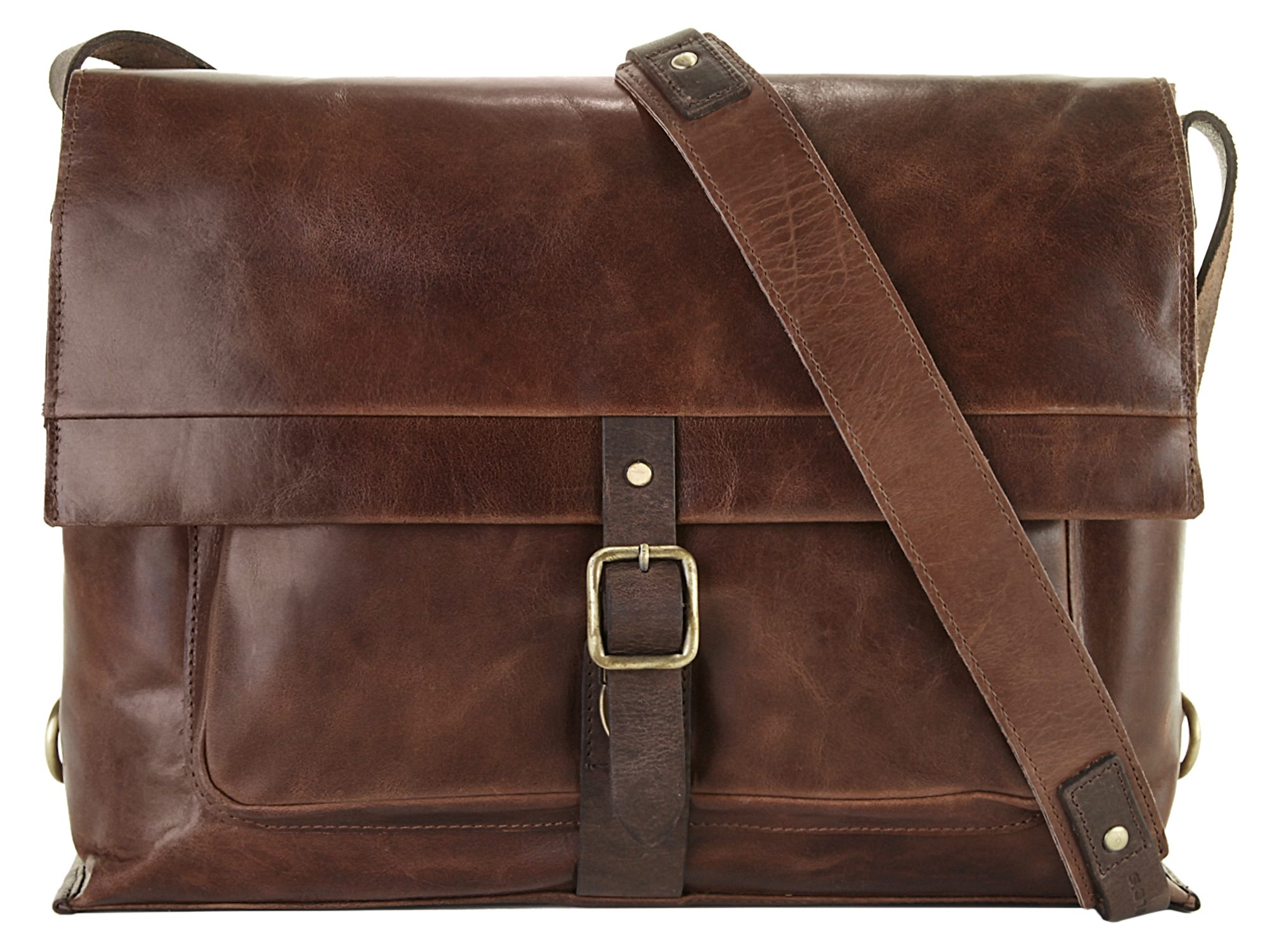 Harold's Leder Messenger Tasche »Stag«